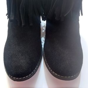 Sbicca Vintage Collection Women's Black  Boots
